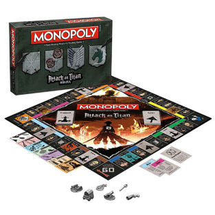 Toy - Board Game - Attack On Titan - Monopoly