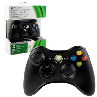 Xbox 360 - Controller - Wireless - 2013 Edition - Black (Microsoft)