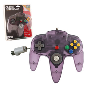 N64 - Controller OG - Clear Purple (TTX Tech)