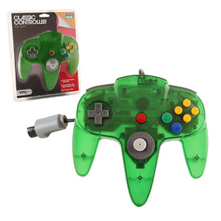 N64 - Controller OG - Clear Green (TTX Tech)