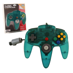 N64 - Controller OG - Clear Teal (TTX Tech)