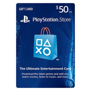 PS3 - PS4 - Subscription Card - PSN Live - $50 Value (Sony)
