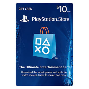 PS3 - PS4 - Subscription Card - PSN Live - $10 Value (Sony)