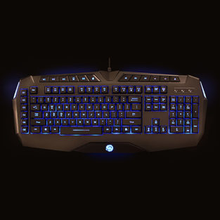 PC - Keyboard - Professional Gaming Keyboard - Black (TTX Tech)