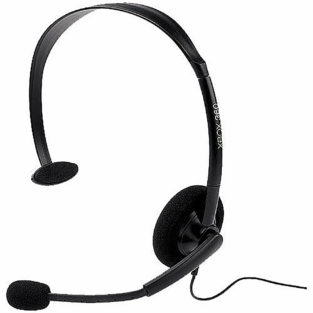 Xbox 360 - Headset - Wired - Black -  New Bulk (Microsoft)