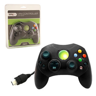 Xbox - Controller - Wired - Controller S - Solid Black (TTX Tech)