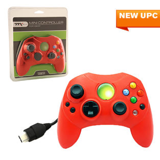 Xbox - Controller - Wired - Controller S - Solid Red (TTX Tech)