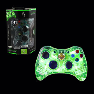 Xbox 360 - Controller - Wired - Microsoft Afterglow - Green (PDP)