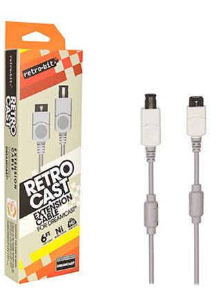 Dreamcast - Cable - Extension Cable - 6Ft (Retro-Bit)