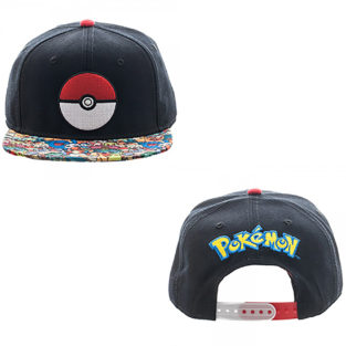 Novelty - Hats - Pokemon - Pokeball Snapback