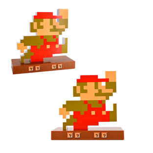 Novelty - Alarm Clock - Super Mario Retro - Mario