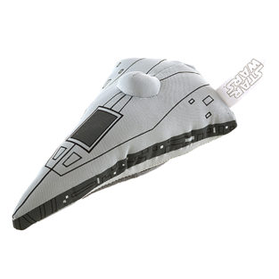 Toy - Plush Vehicles - Star Wars: The Force Awakens - Star Destroyer