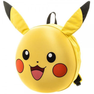 Novelty - Backpack - Pokemon - Pikachu 3D Moulded Backpack