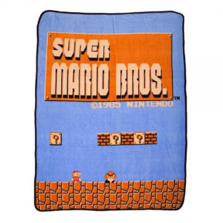 Novelty - Blanket - Nintendo - Super Mario Throw