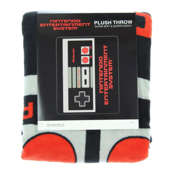 Novelty - Blanket - Nintendo - Controller Throw