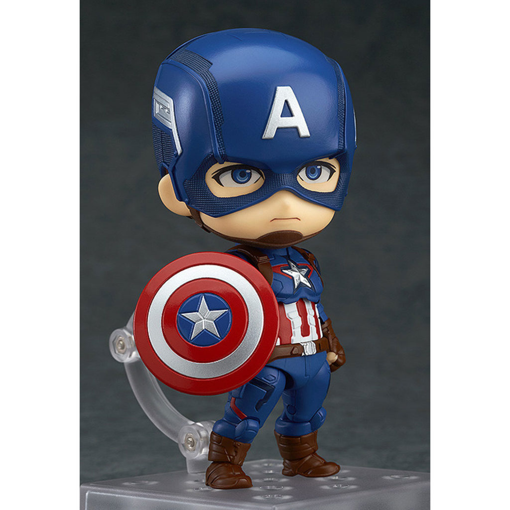 Toy - Nendoroid - Vinyl Figure - Marvel - Captain America - Hero's Edition
