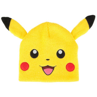 Novelty - Hats - Pokemon - Pikachu Beanie With Ears