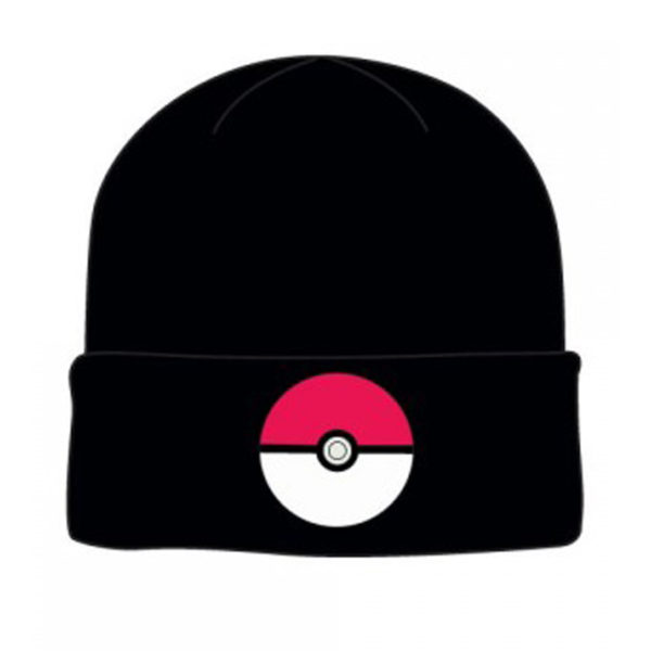 Novelty - Hats - Pokemon - Poke Ball Poke Ball Cuff Beanie