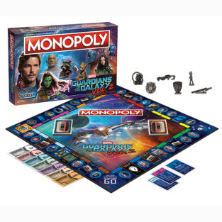 Toy - Board Game - Guardians of the Galaxy Vol. 2 - Monopoly