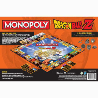 Toy - Board Game - Dragon Ball Z - Monopoly