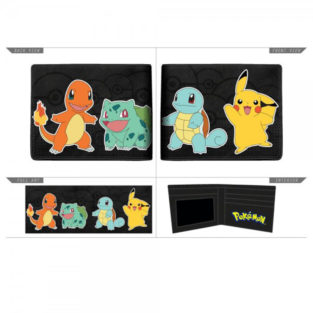 Novelty - Wallet - Pokemon - Character Bi-Fold Wallet
