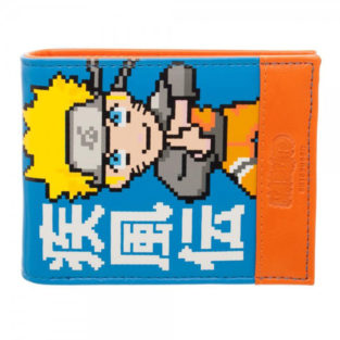 Novelty - Wallet - Naruto - Orange and Blue Bi-Fold