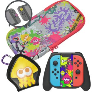 Switch - Bundle - Splatoon 2 Deluxe Splat Pack (Hori)