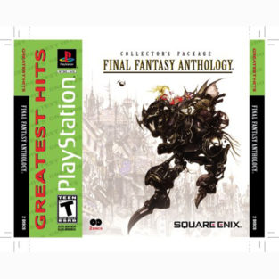 PS - Game - Final Fantasy - Anthology