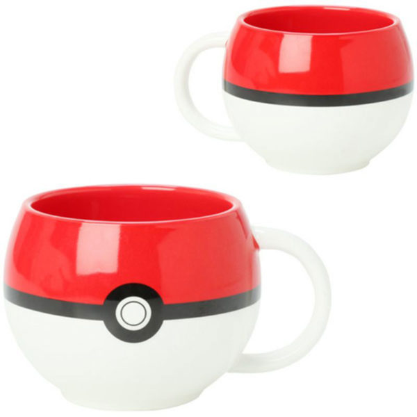 Novelty - Ceramic Mugs - Pokemon - Poke Ball