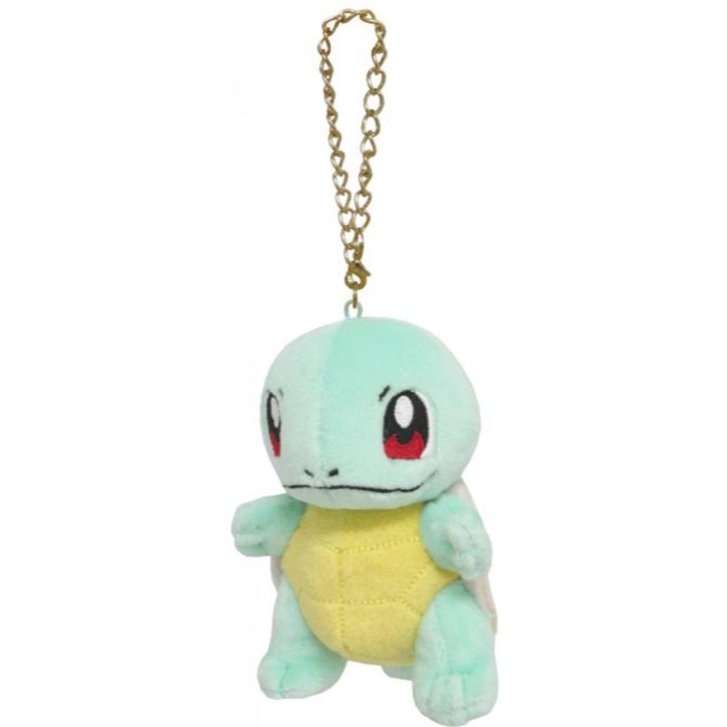 "Toy - Plush - Pokemon - 4"" Squirtle Plush Charm"