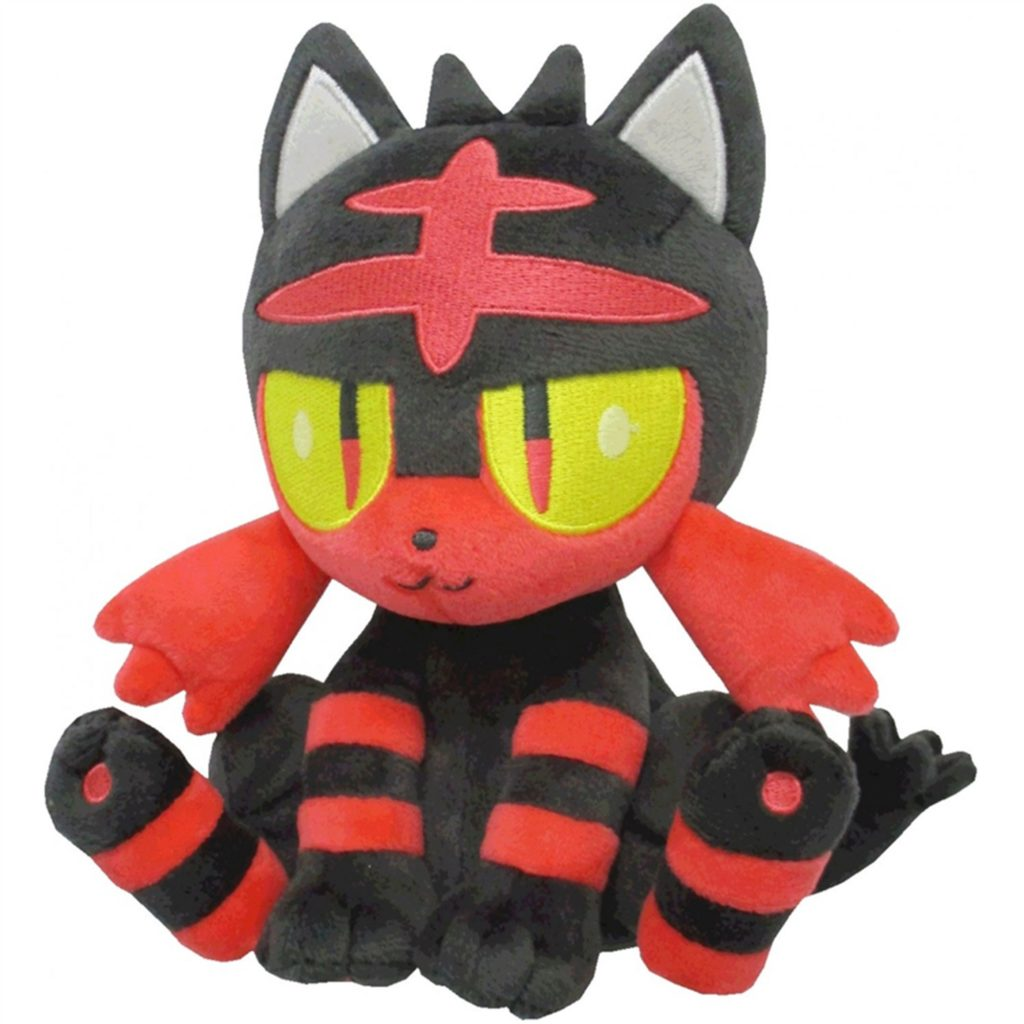 "Toy - Plush - Pokemon -  6"" Litten Plush"