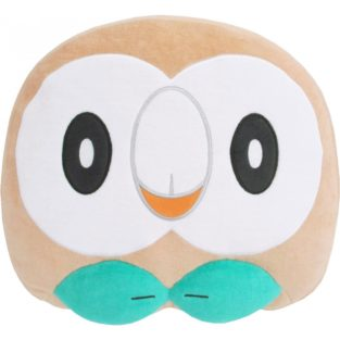 "Toy - Plush - Pokemon - 11"" Rowlet Cushion Plush"