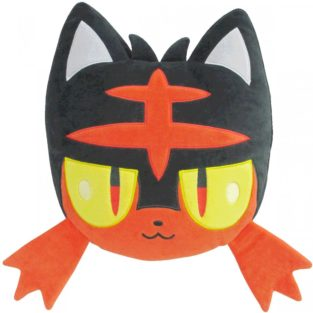 "Toy - Plush - Pokemon - 13"" Litten Cushion Plush"