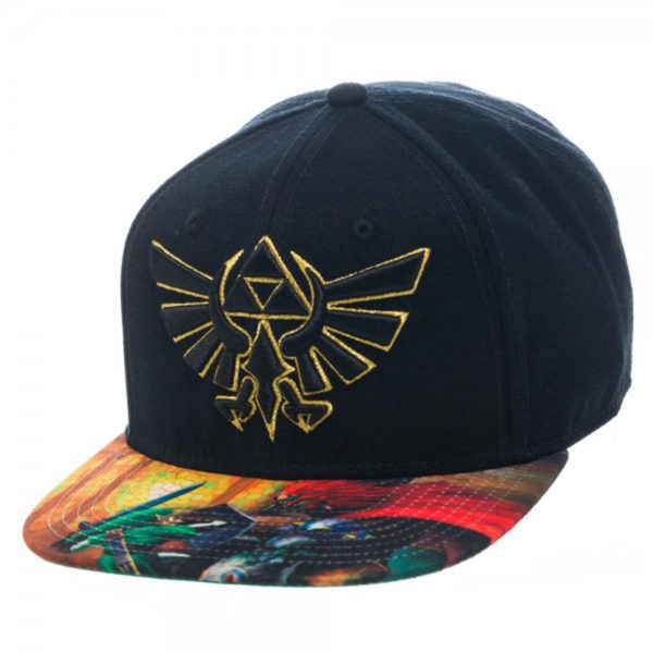 Novelty - Hats - Nintendo - Zelda Sublimated Bill Snapback
