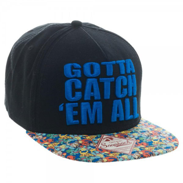Novelty - Hats - Pokemon - Catch Em All Snapback