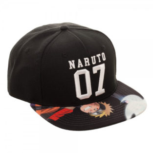 Novelty - Hats - Naruto - Sublimated Bill Snapback