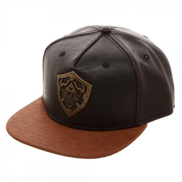 Novelty - Hats - Legend of Zelda - Metal Shield Snapback