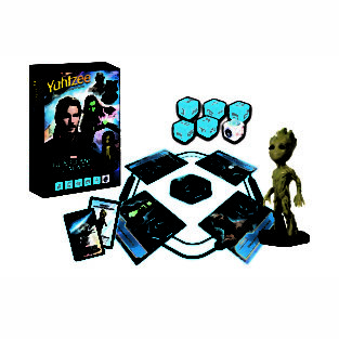 Toy - Board Game - Guardians of the Galaxy Vol. 2 - Battle Yahtzee