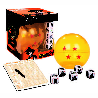 Toy - Board Game - Dragon Ball Z - Yahtzee