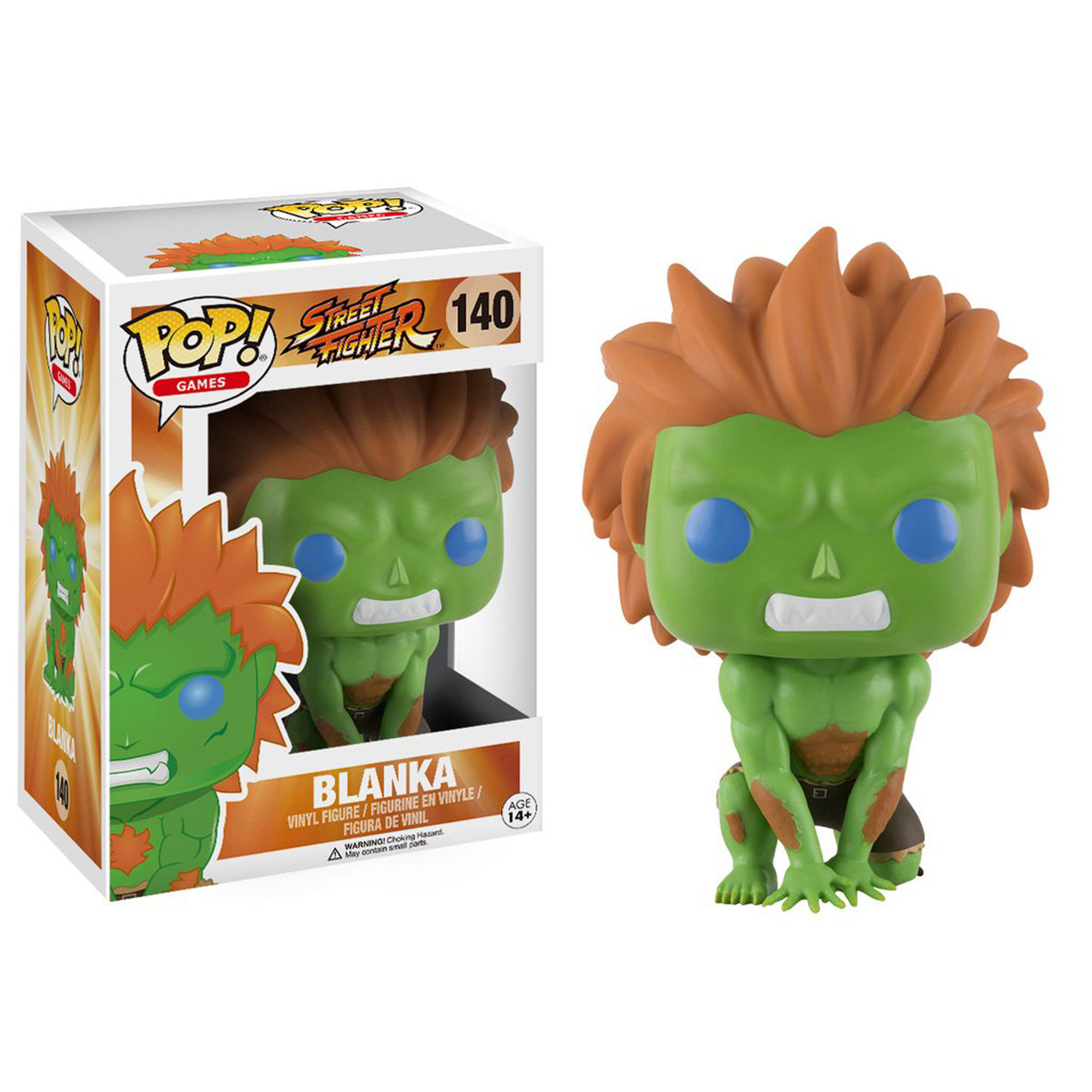 Toy - POP - Vinyl Figure -  Street Fighter - Blanka